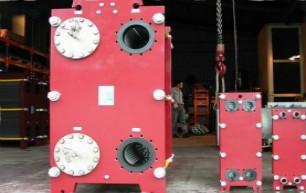 板式冷却器有哪些部分组成的?作用是什么?